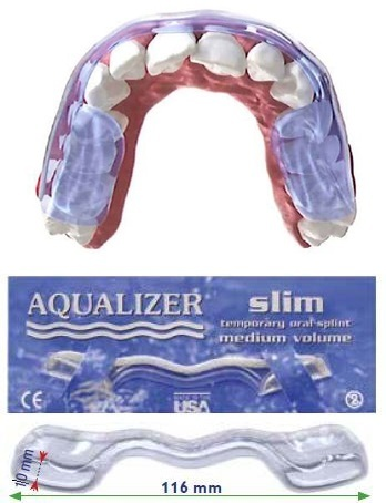 Aqualizer® dispositif hydrostatique occlusal prêt à l'emploi SLIM