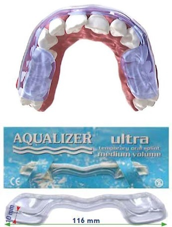 Aqualizer® dispositif hydrostatique occlusal prêt à l'emploi ULTRA