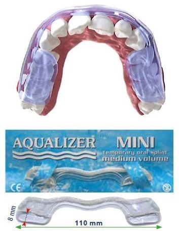 Aqualizer® dispositif hydrostatique occlusal prêt à l'emploi MINI